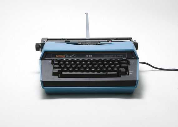 Brother Electric Typewriter - Cassette, Correct o Riter