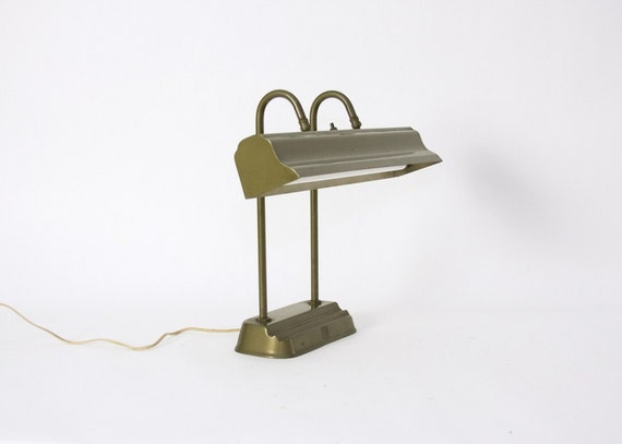 Desk Lamp - Art Deco, Machine Age, Library