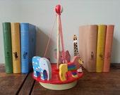 Vintage Nursery Carousel - Wooden toy