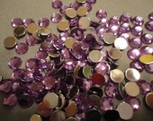 light purple acrylic rhinestone decoden deco diy  6 mm    more than 50 pcs---USA seller