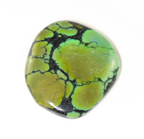 Natural Turquoise Cabochon 28x23x5mm J25B6340