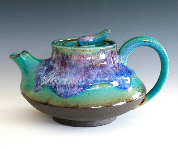 Kawa, River Teapot, Handmade Ceramic Teapot, ceramics and pottery