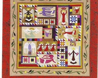 Folk Art Angel  Quilt