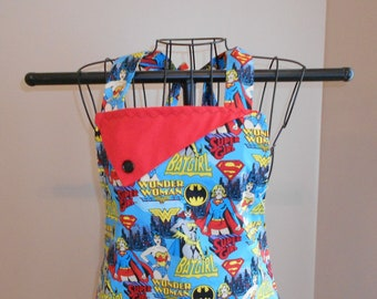 Wonder Woman/Batgirl Apron