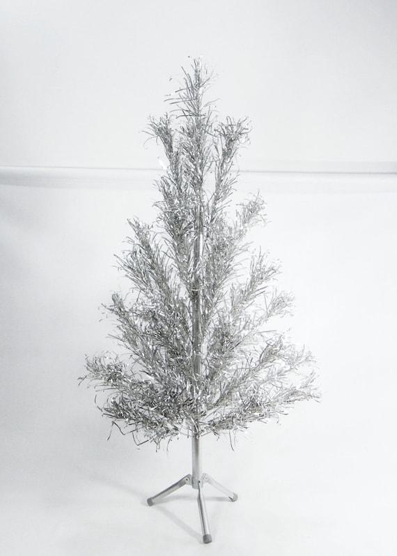 Vintage Aluminum Christmas Tree 4 foot table top