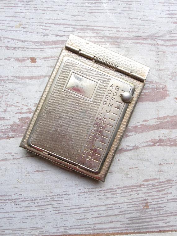 Reserved-Vintage Address Book
