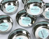 Extra Stainless Steel Bowls for Modern Elevated Pet Feeder