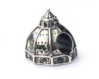Duomo Florence Landmark Charm Bead Sterling Silver LM009