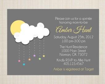 Gender Neutral Baby Shower Invitation