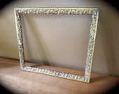 """Antique Gold Carved Wood Frame // 14"""" x 16"""" // interior dimensions are 12.3"""" x 14.3"""""""