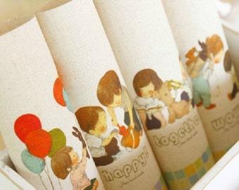 Cotton Linen Fabric Cloth -DIY Cloth Art Manual Cloth -Printing Dyeing Linen Fabric Cotton  8x 8 Inches (20cm X 20cm)