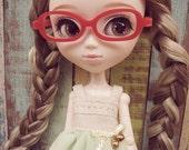 Red Nerd Glasses