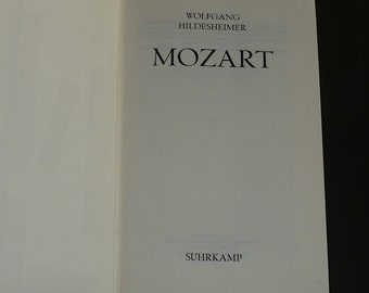 Mozart Wolfgang, Hildesheimer, 1977, German Language, Books, Biographies & Autobiography, Music,