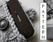 Kare Knits' Signature Cable Knit iPhone Case - KNITTING PATTERN ONLY (updated to include pattern for iPhone 6 and 6 Plus)
