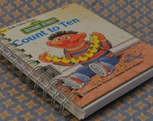 Vintage First Little Golden Book Journal--Sesame Street Count to Ten