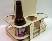 Reusable Eco-Friendly Wooden Beer Caddy