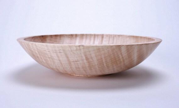 Fiddleback Maple Wooden Bowl 938