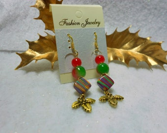 Christmas Earrings Festive Holiday Earrings
