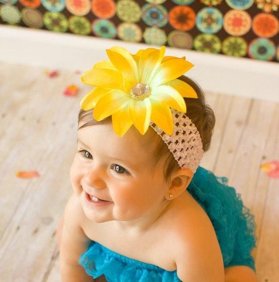 Flower Headband - Baby Headband