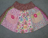 Sale - Peace and Love skirt, size 4