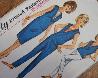 Vintage Sailor Dress Simplicity 5896 Size 12 Unused