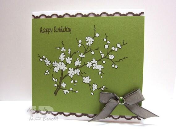Beautiful Cherry Blossom - Birthday Greeting Card