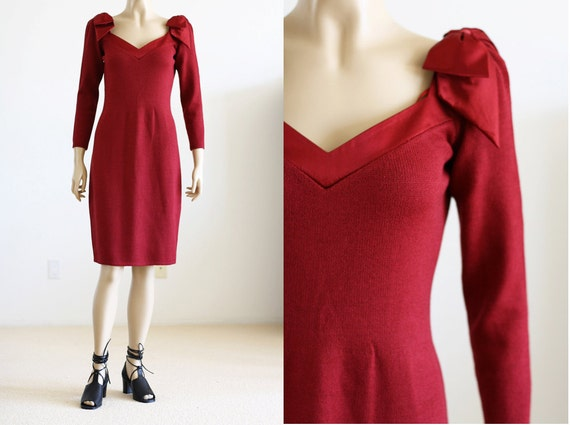 RESERVED 80's St. John Sweater Dress S/M RESERVED