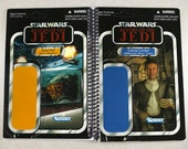 Colonel Cracken & Mon Calamari Rebel Pilot Recycled Vintage Style Star Wars ROTJ otebook