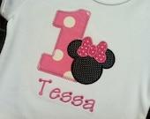 Minnie Mouse Birthday T Shirt