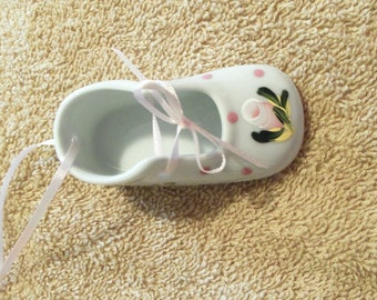 Handpainted Personalized Baby's First Christmas Ornament