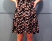 90s Grunge Floral Express Dress