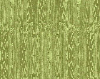 Joel Dewberry - AVIARY2 -Woodgrain in Dill JD42 - Free Spirit Fabric - By the Yard