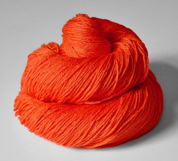 Broken neon sign OOAK - Merino/Silk superwash yarn fingering weight