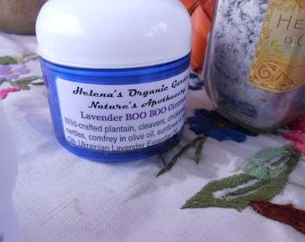 Lavender Boo Boo Ointment - Organic Salve