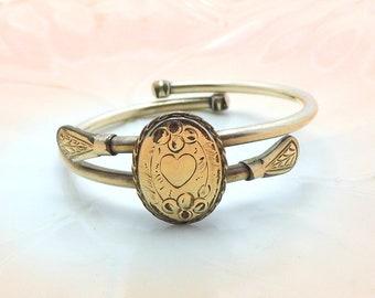 Antique Victorian Gold Filled Bates & B Clasper Bracelet
