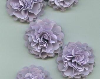 Wisteria Light Purple Mini Carnation Paper Flowers