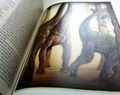 SALE Vintage book 1985 Stunningly ILLUSTRATED The Dinosaurs: A Fantastic View of a Lost Era