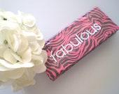 Zebra Duct Tape Wallet