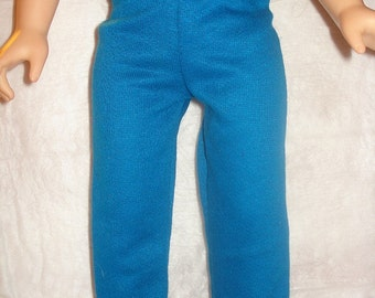 Royal blue leggings for 18 inch Dolls - ag137