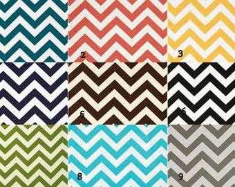 """Pillow Cover Cushion pick 2 zig zag  of any color 20x20"""""""