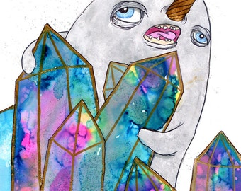 Crystal Narwhal