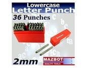Mazbot 2mm Letter and Number punch - LP200L