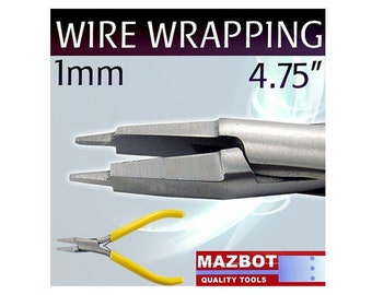 Mazbot Pro 1MM Wire WRAPPING Pliers Beading Jewelry Making Tool Stainless MWP10
