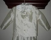 Boys Silk Dupioni Eton Style Boutique Suit