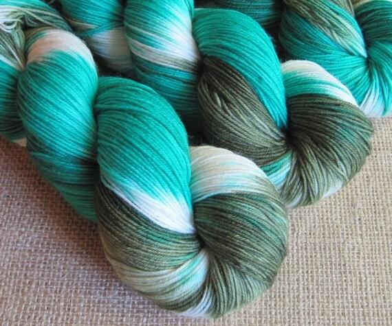 Dobby - SW Merino & Nylon Sock Fingering Yarn - 462 yds - Hand Dyed