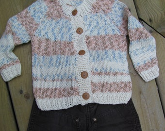 Cardigan for boy or girl 12-18 month
