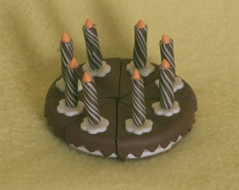 birthday cake doll food for American Girl dolls