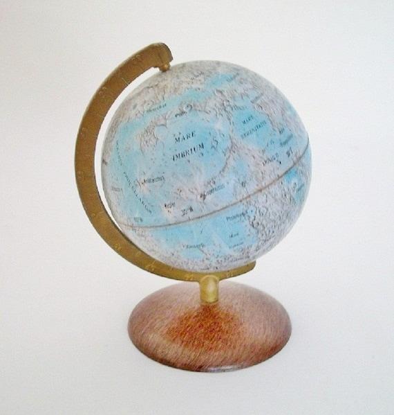 Vintage Moon Globe - Novelty Globe