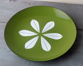 Green Cathrineholm Platter