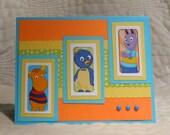 "Handmade ""Backyardigans"" Birthday Card"